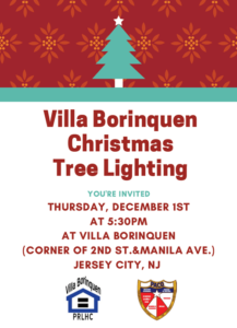 Villa Borinquen Christmas Tree Lighting