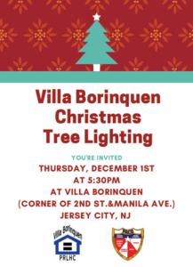 Villa Borinquen Christmas Tree Lighting