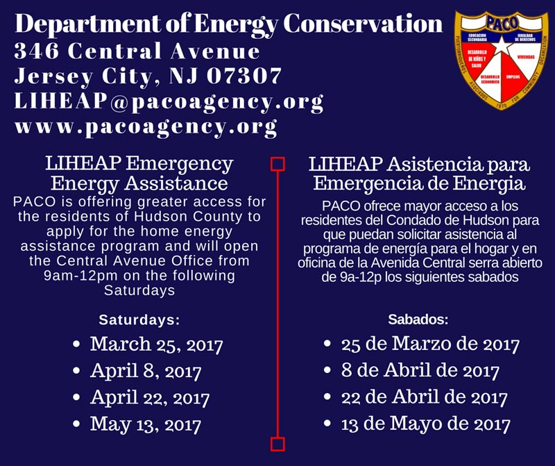 LIHEAP Emergency Assistance saturday hours